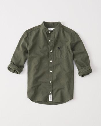kids chambray shirt