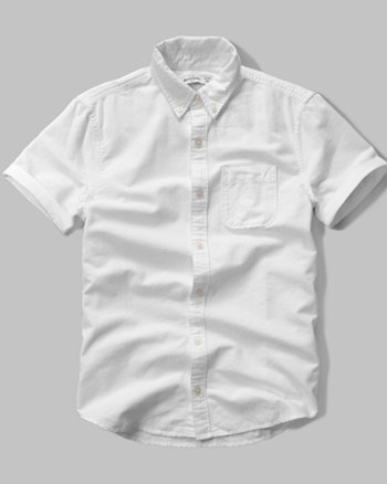 kids solid short sleeve pocket shirt