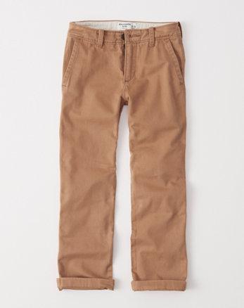 kids classic chino pants