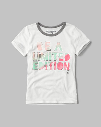 kids shine graphic tee