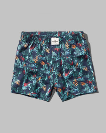 kids a&f woven boxers