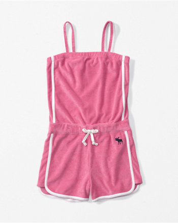 kids romper cover up