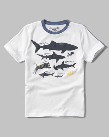 kids ocean graphic tee