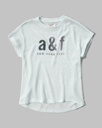 kids snit graphic tee