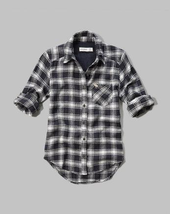 kids plaid flannel pocket shirt