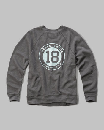 kids logo graphic sweatshirt