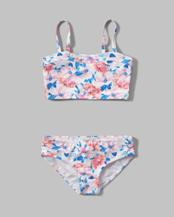 kids long line two-piece swimsuit