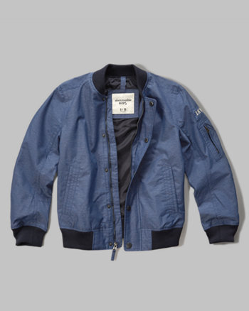 kids lightweight bomber jacket