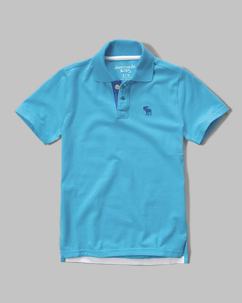 kids iconic polo