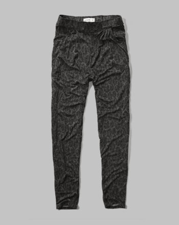 kids knit harem pants