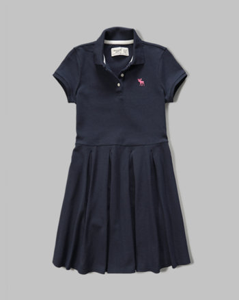 kids polo skater dress