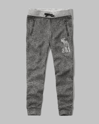 kids textured jogger sweatpants