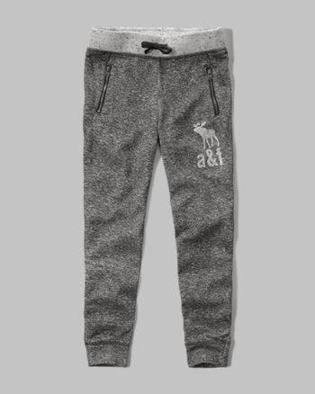 kids textured jogger sweatpants