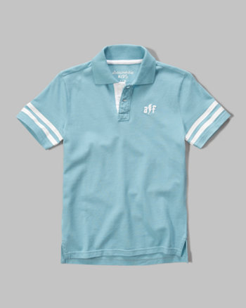 kids glow in the dark polo