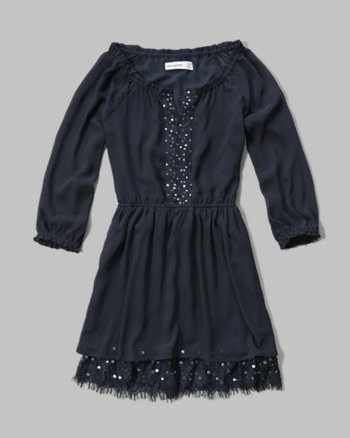 kids embellished peasant dress