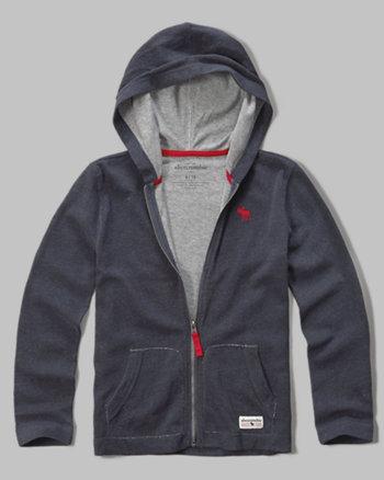 kids iconic contrast hoodie