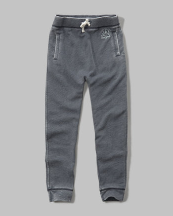 kids fleece harem pants