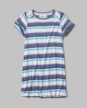 kids swingy t-shirt dress