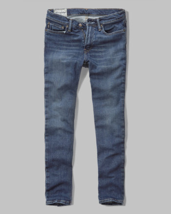 kids a&f super skinny jeans