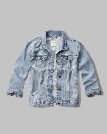 kids denim boyfriend jacket