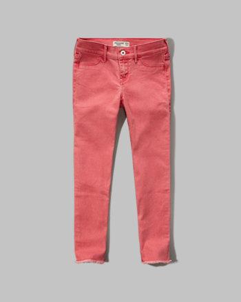 kids a&f ankle jean leggings