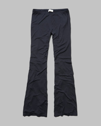 kids drapey flare pants