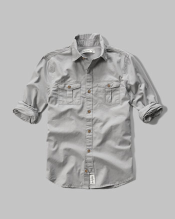 kids military pocket shirt