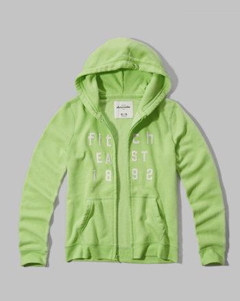 kids logo graphic hoodie