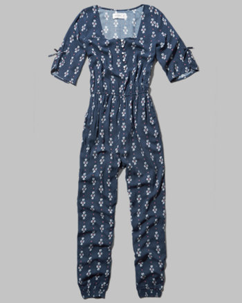 kids boho bell sleeve jumpsuit