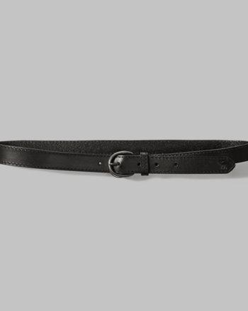 kids adjustable leather belt