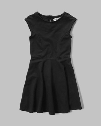 kids patterned skater dress