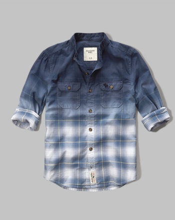 kids mandarin collar shirt