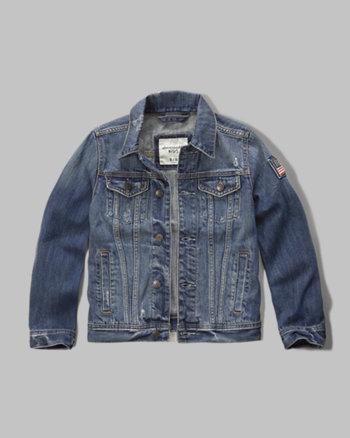 kids americana denim jacket