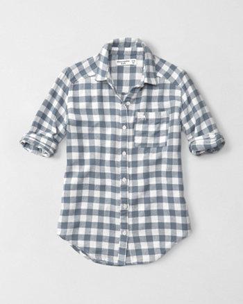 kids plaid flannel shirt