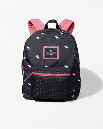 kids small zip pocket backpack