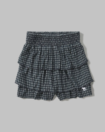kids ruffle soft shorts