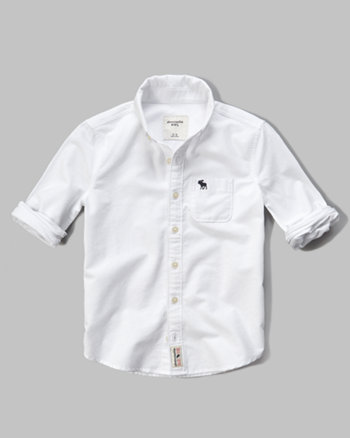 kids iconic oxford shirt