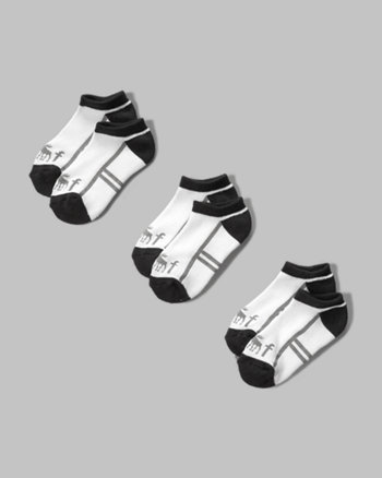 kids a&f athletic socks