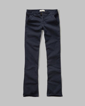 kids a&f boot chinos