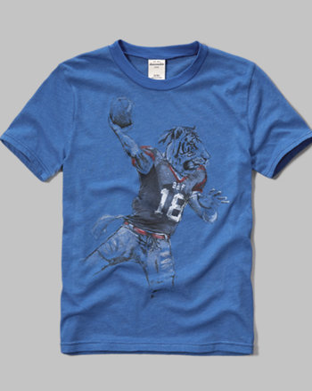 kids athletic graphic tee