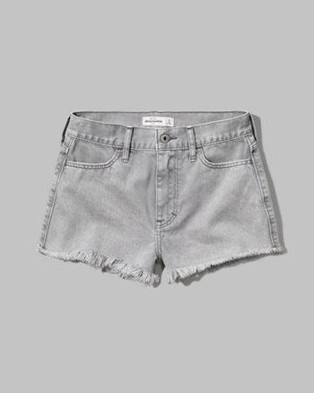 kids a&f high rise festival shorts