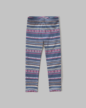 kids cropped leggings