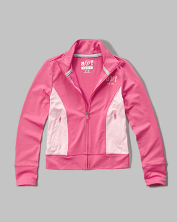 kids active full zip jacket