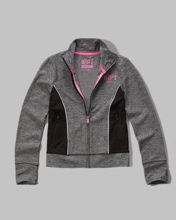 kids active full zip jacket