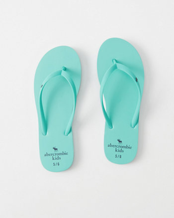 kids Rubber Flip Flops