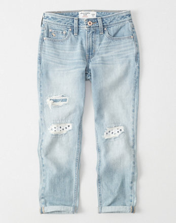 kids Lace Girlfriend Jeans