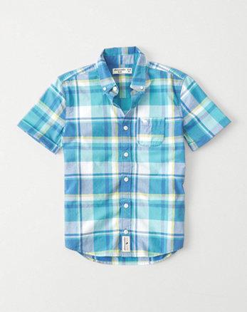 kids Classic Poplin Shirt