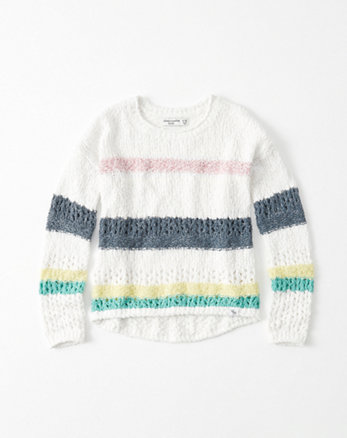 kids Open Stitch Sweater