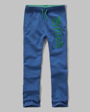 kids classic logo graphic sweatpants