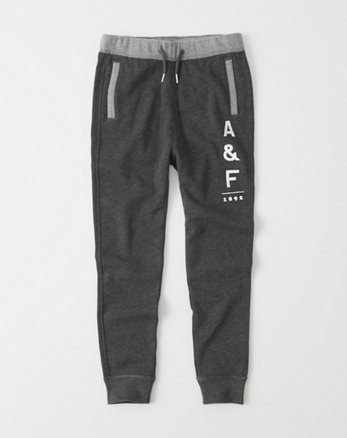 kids Logo Graphic Joggers